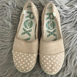 ROXY WOMENS BRODY III SLIP ON SHOES POLKA DOT